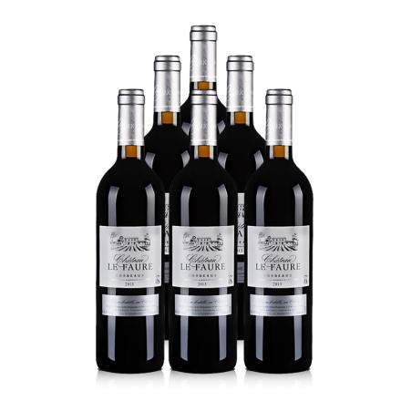 法国乐芙城堡AOC干红葡萄酒750ml(6瓶装)