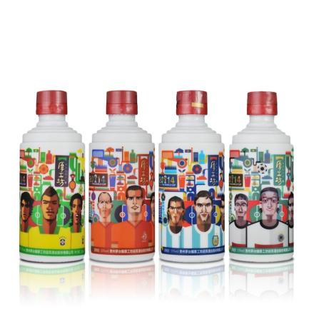 厚工坊2014世界杯型男系列四瓶套装