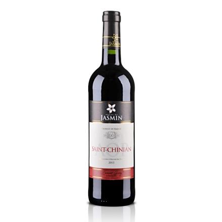 法国红酒AOP茉莉花 - 圣•夕阳干红葡萄酒750ml
