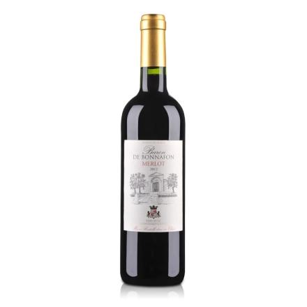 【清仓】法国博纳梅洛干红葡萄酒750ml