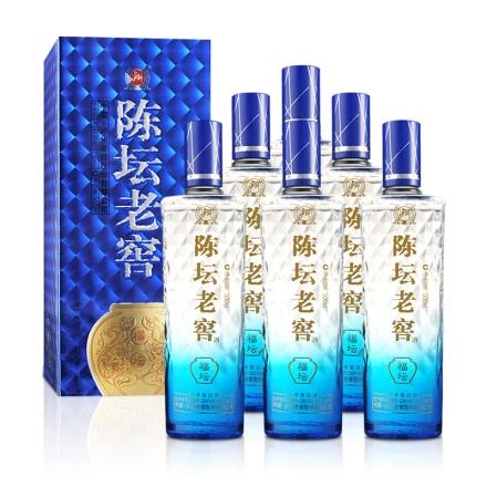52°泸州老窖陈坛老窖福坛500ml(2014年) (6瓶装)