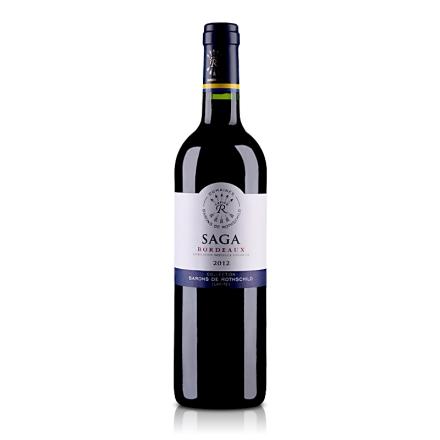 法国拉菲传说波尔多干红葡萄酒750ml
