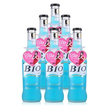 4°BIO蓝玫瑰味预调酒275ml(6瓶装)