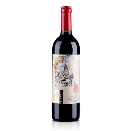 法国AOC西夫拉姆梦幻城堡干红葡萄酒750ml