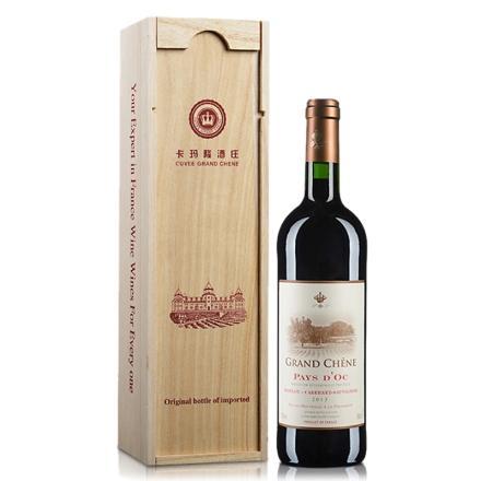 法国 卡玛隆干红葡萄酒 750ml(礼盒装)