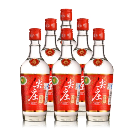 52°精品尖庄曲酒250ml(6瓶装)