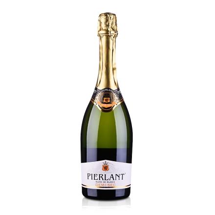 【清仓】法国红酒派瑞丽白中白半干型气泡酒750ml