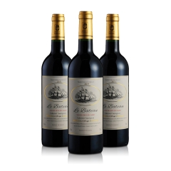 法国龙船之星干红葡萄酒750ml(3瓶装)