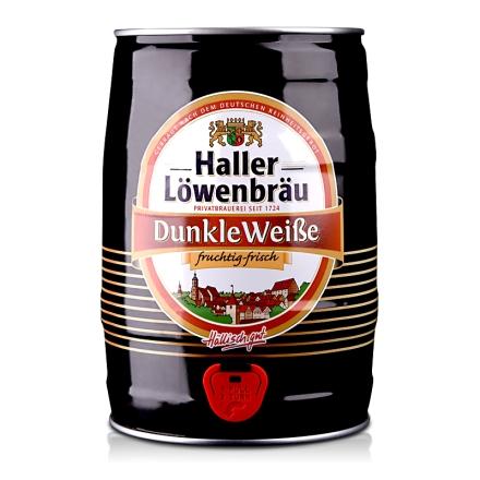 德国哈勒狮堡醇麦黑色啤酒5L
