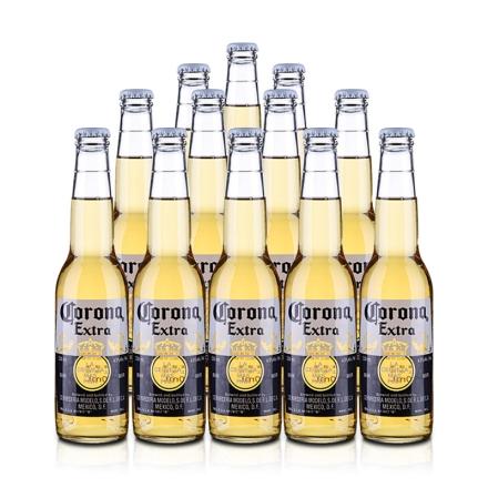 墨西哥原装进口科罗娜特级啤酒330ml(12瓶装)