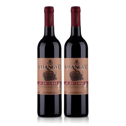 中国张裕干红葡萄酒佳酿750ml(双瓶装)