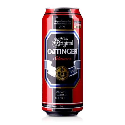 德国奥丁格黑啤酒500ml