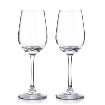 五洲海购葡萄酒杯350ml(双支装)