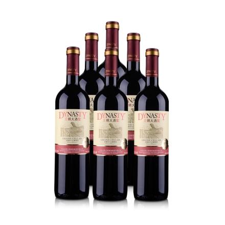 王朝大酒窖赤霞珠干红葡萄酒750ml(6瓶装)