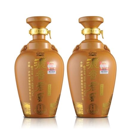 52°泸州老窖典藏600ml(双瓶装)