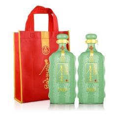 【酒仙自营】52°五粮液(股份)唐王宴珍品750ml(双瓶装)+唐王宴手提袋