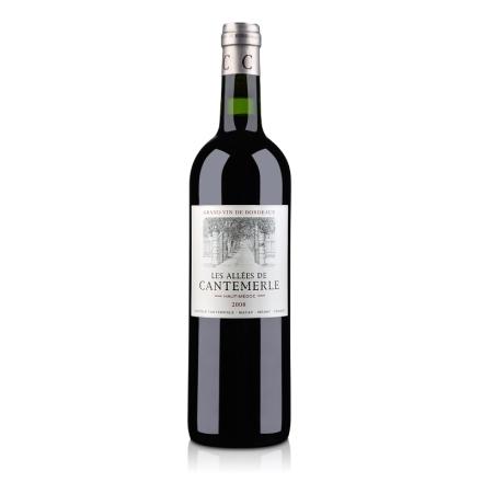 【清仓】法国上梅多克AOC级小佳得美2008干红葡萄酒750ml