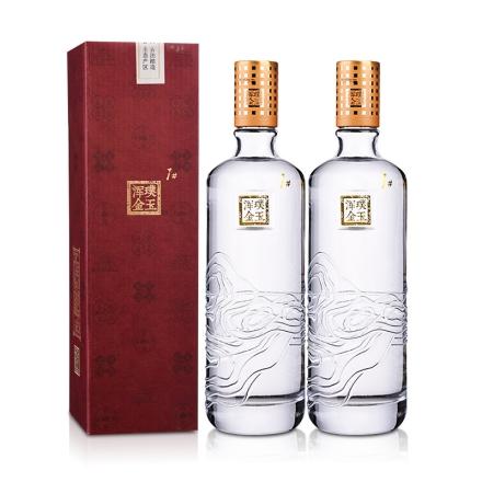 52°璞玉浑金1号酒500ml(2瓶装)
