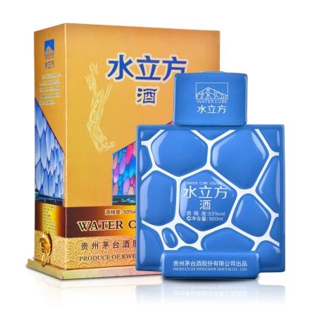 【老酒】53°茅台水立方酒500ml(2012年)