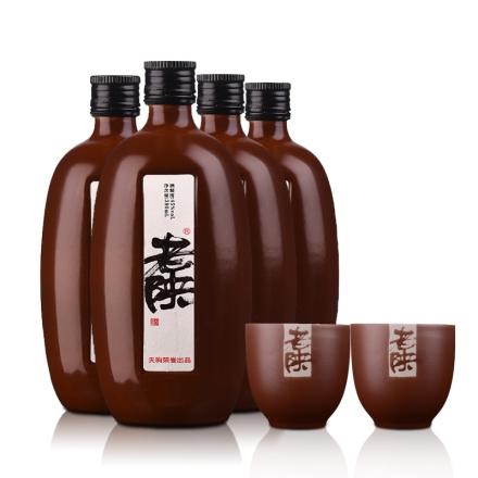 45°老陕380ml(4瓶装)+老陕酒杯(乐享)(双瓶装)