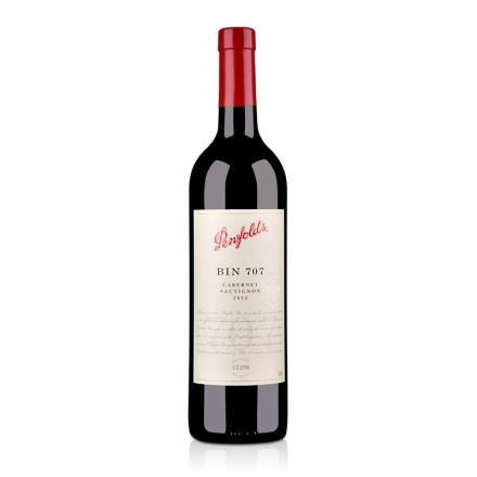 澳大利亚奔富酒园Bin707赤霞珠干红葡萄酒750ml (单支礼盒装)