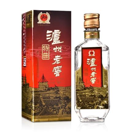 【老酒】52°泸州老窖特曲50ml(2005年)