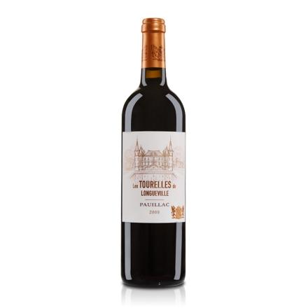 (列级庄·名庄副牌)法国碧尚男爵堡2009干红葡萄酒750ml