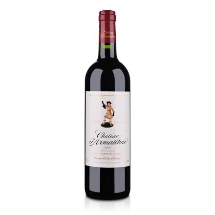 (列级庄·名庄正牌)法国达玛雅克酒庄2007干红葡萄酒750ml(又名:达麦)