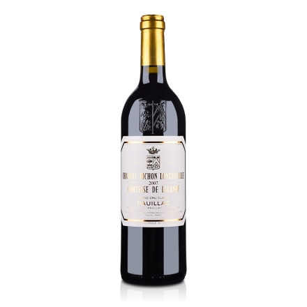 (列级庄·名庄正牌)法国碧尚女爵2007干红葡萄酒750ml(又名:比宋拉兰德酒庄)