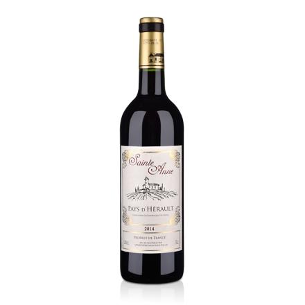 法国圣安娜2014干红葡萄酒750ml