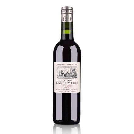 (列级庄·名庄正牌)法国佳得美古堡2007干红葡萄酒750ml(又名:凯梅琪)