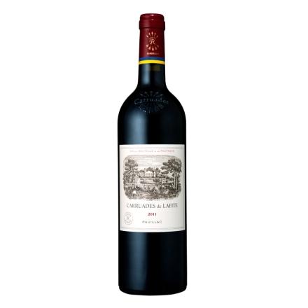 名庄红酒(列级庄·名庄·副牌)法国拉菲酒庄2011副牌干红葡萄酒750ml(又译:小拉菲、拉菲古堡)