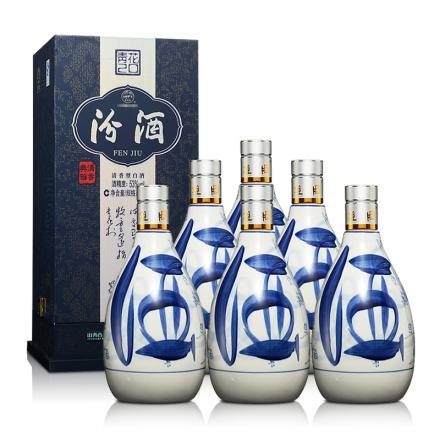 53°青花20汾酒500ml(6瓶装)