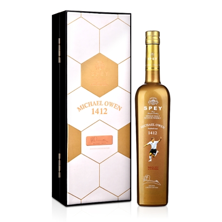 诗贝迈克尔欧文1412限量版单一纯麦苏格兰威士忌(乐享)