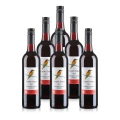 澳大利亚进口荆棘鸟卡本妮西拉梅洛红葡萄酒750ml*6