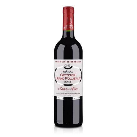(清仓)法国梅多克中级庄格蕾斯大保捷庄园干红葡萄酒750ml