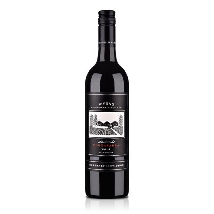 澳大利亚酝思黑标赤霞珠干红葡萄酒750ml