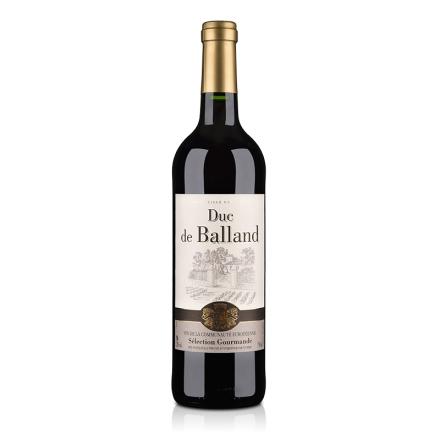 法国红酒法国巴朗德公爵干红葡萄酒750ml