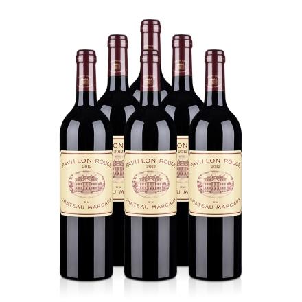 (列级庄·名庄·副牌)玛歌城堡2012干红葡萄酒750ml(6瓶装)