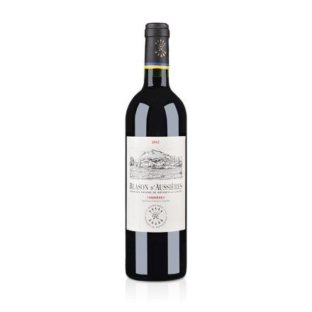 【清仓】法国拉菲集团奥希耶徽纹科比埃法定产区红葡萄酒750ml