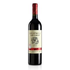 中国华夏长城经典红标解百纳干红葡萄酒750ml