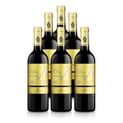 西班牙整箱红酒西班牙慕隆城堡帕瑞罗金标干红葡萄酒750ml(6瓶装)