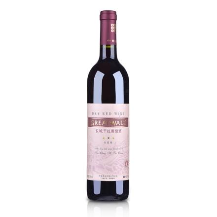 中国长城沙城三星干红葡萄酒