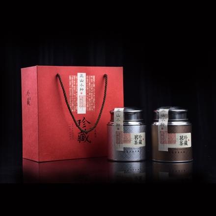【清仓】武夷山精制红茶正山小种100g*2珍藏礼盒装