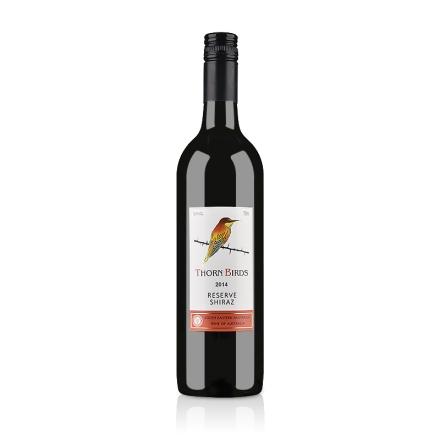 【清仓】澳大利亚朗翡洛荆棘鸟珍藏西拉红葡萄酒750ml