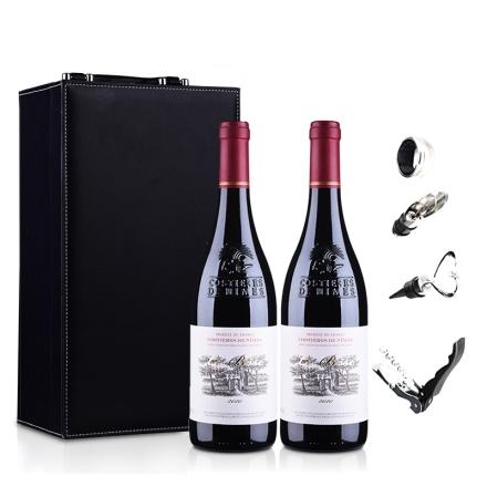 法国博斯克干红葡萄酒礼盒