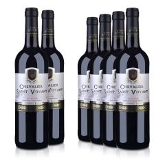 【忘忧酒馆】法国整箱红酒法国(原瓶进口)法圣古堡圣威骑士干红葡萄酒750ml(6瓶装)