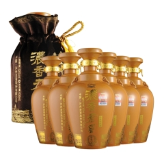 52°泸州老窖典藏600ml (6瓶装)