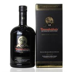 46.3°英国布纳哈本12年艾雷岛单一纯芽威士忌700ml
