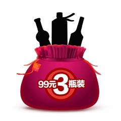 万事顺福袋(198元3瓶)